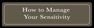 sensitivity button